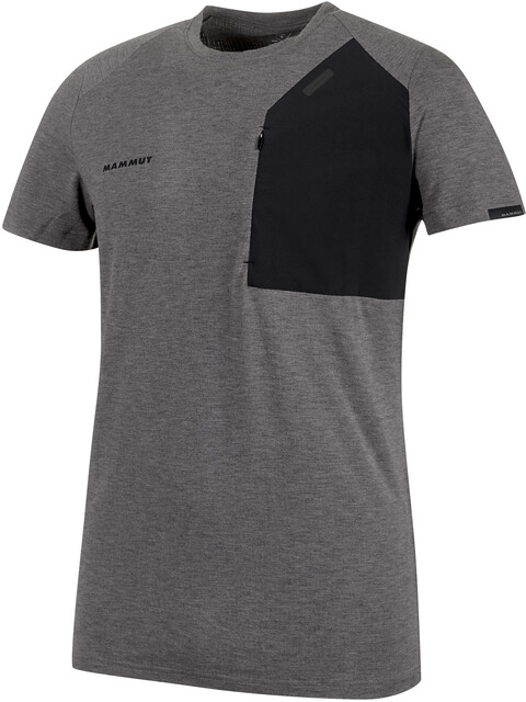Mammut M's Crashiano Pocket T-Shirt black mélange-black